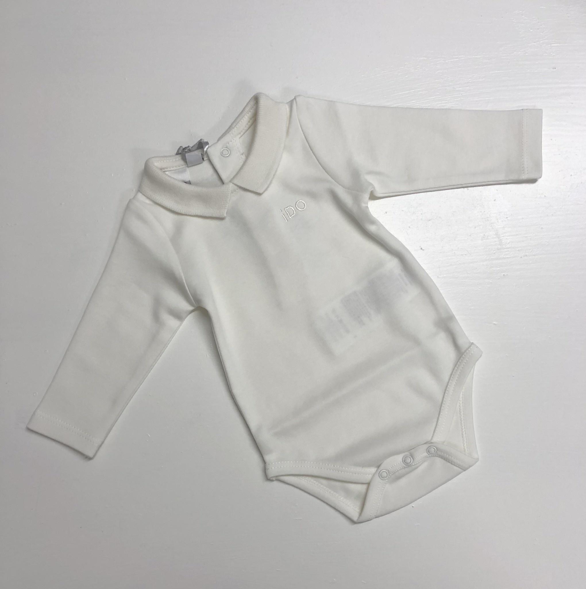Ido Ido Winter White Polo Shirt Body