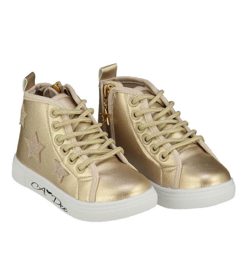 A Dee A Dee W19SH1 Farah Gold Hi Top Boot