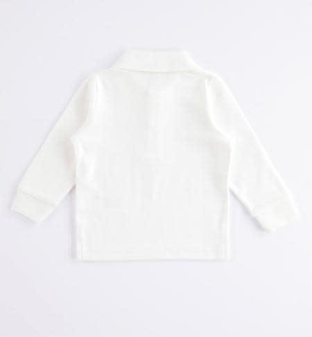 Ido Ido Grey Long Sleeve Polo Shirt
