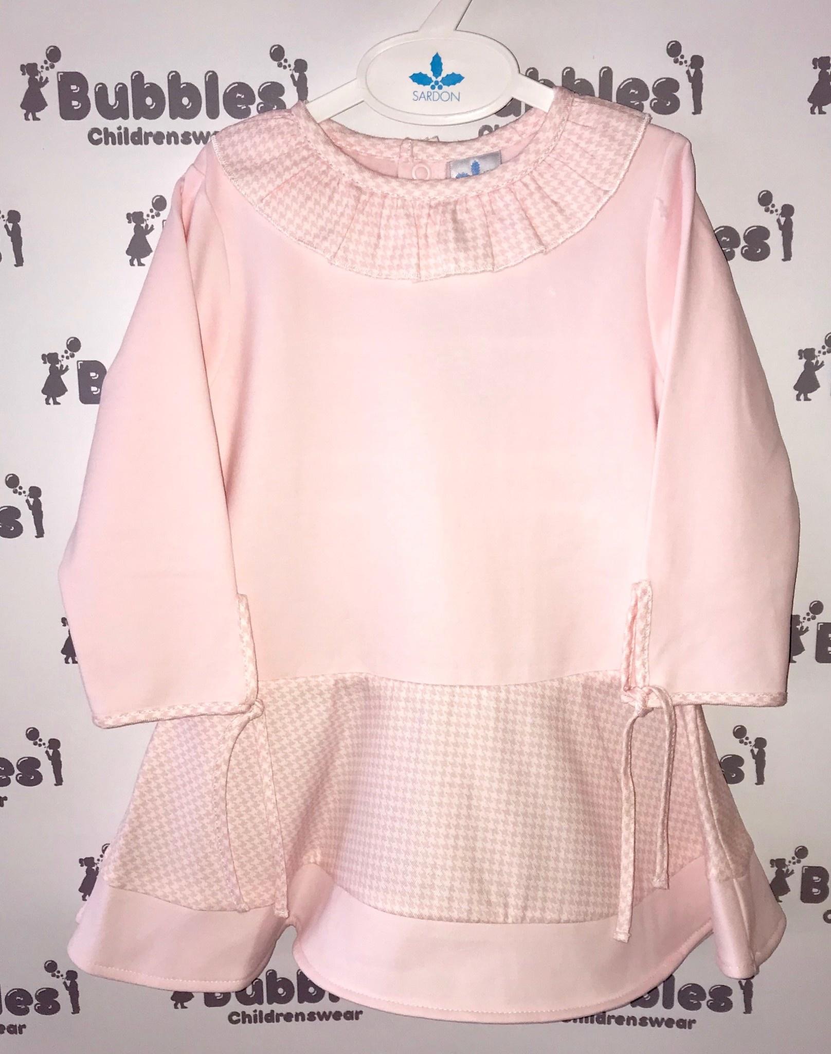 Sardon Sardon Pink Jersey Dress