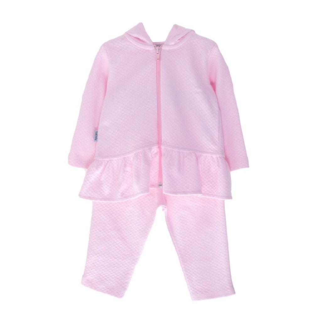 Babidu Babidu London Quilted Pink 2 Piece Set 63190