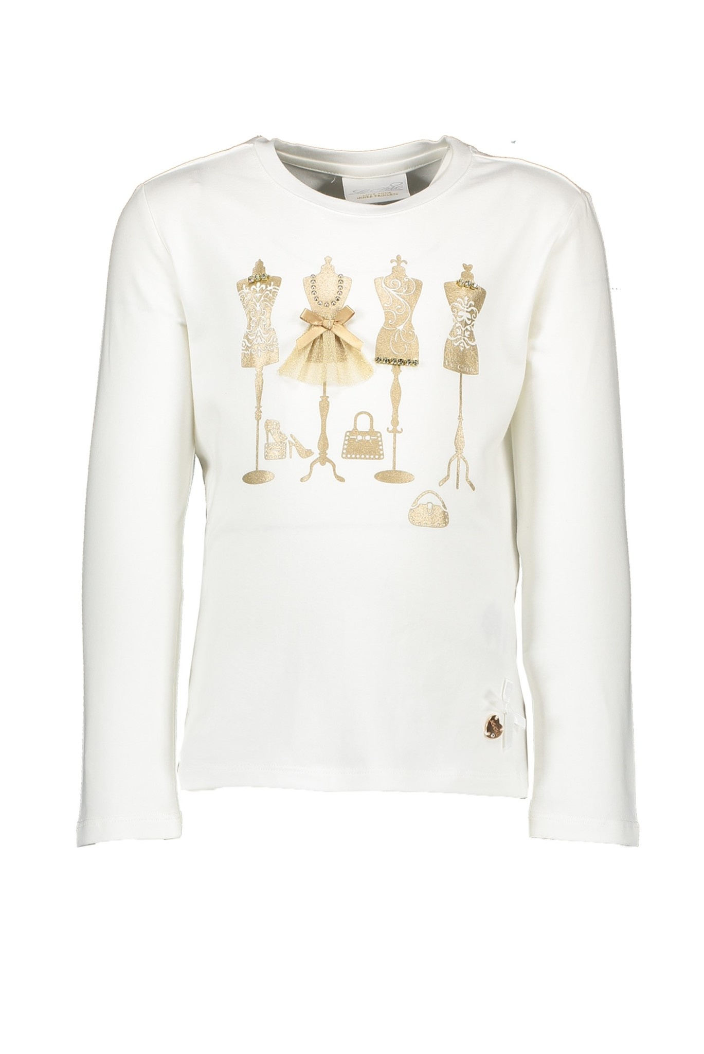 Lechic Le Chic Girls White Mannequin Top