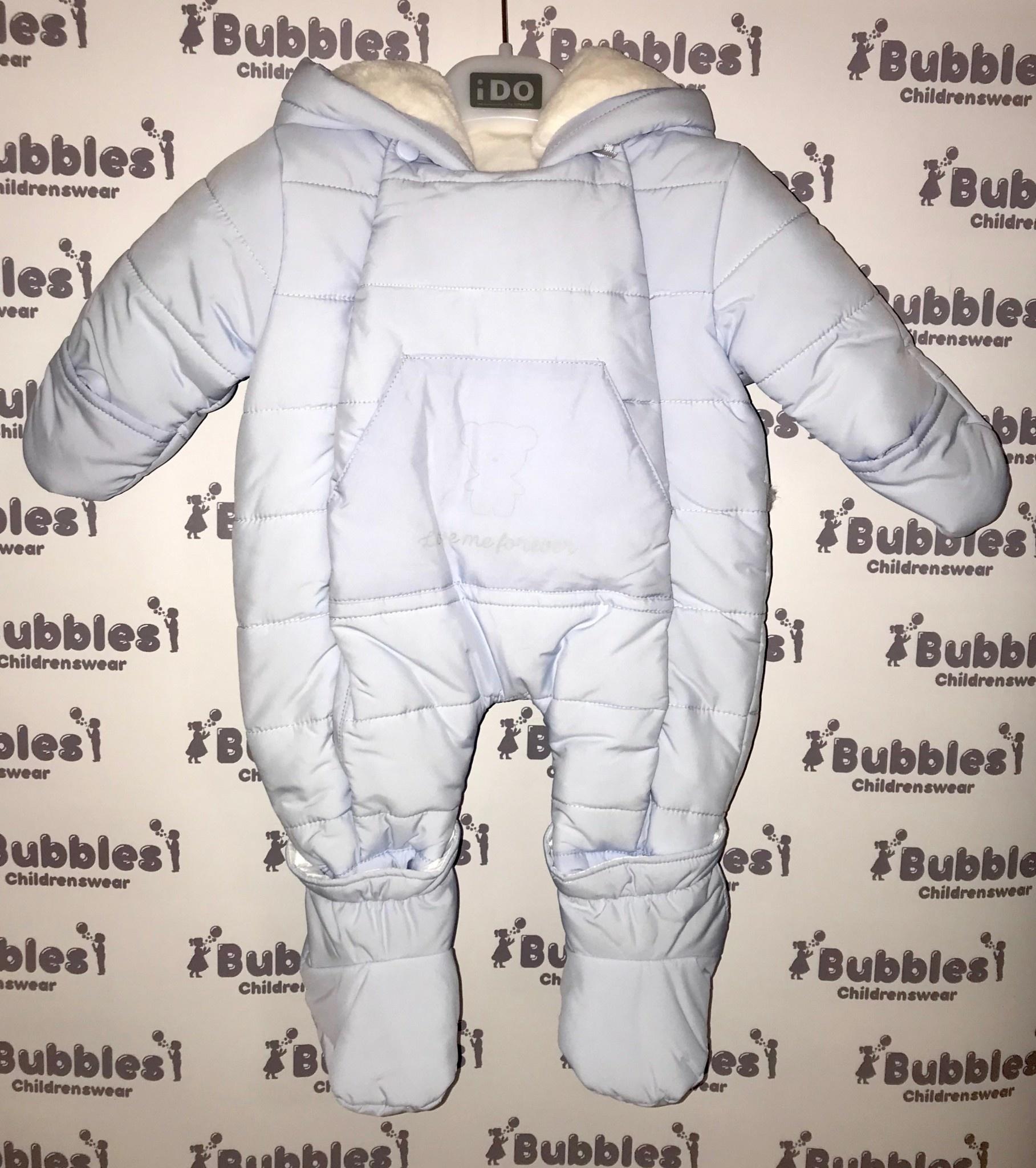 Ido iDO Boys Blue Snowsuit with Pocket