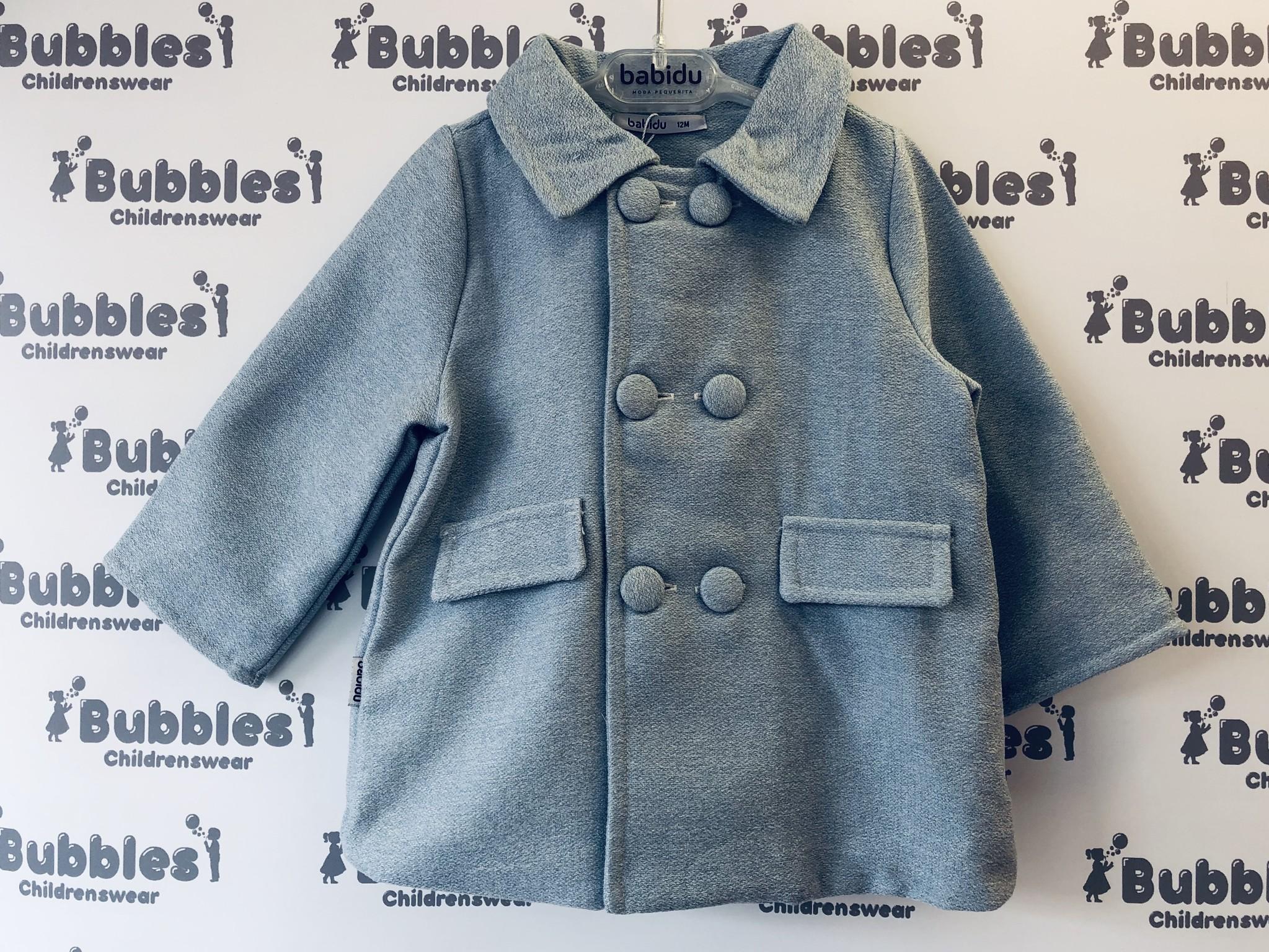 Babidu Babidu Lucca Sky Blue Coat 32255