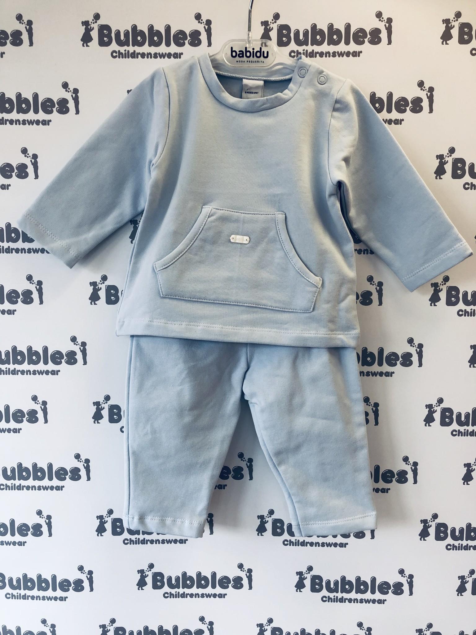 Babidu Babidu Pale Blue Jersey 2 Piece 19460