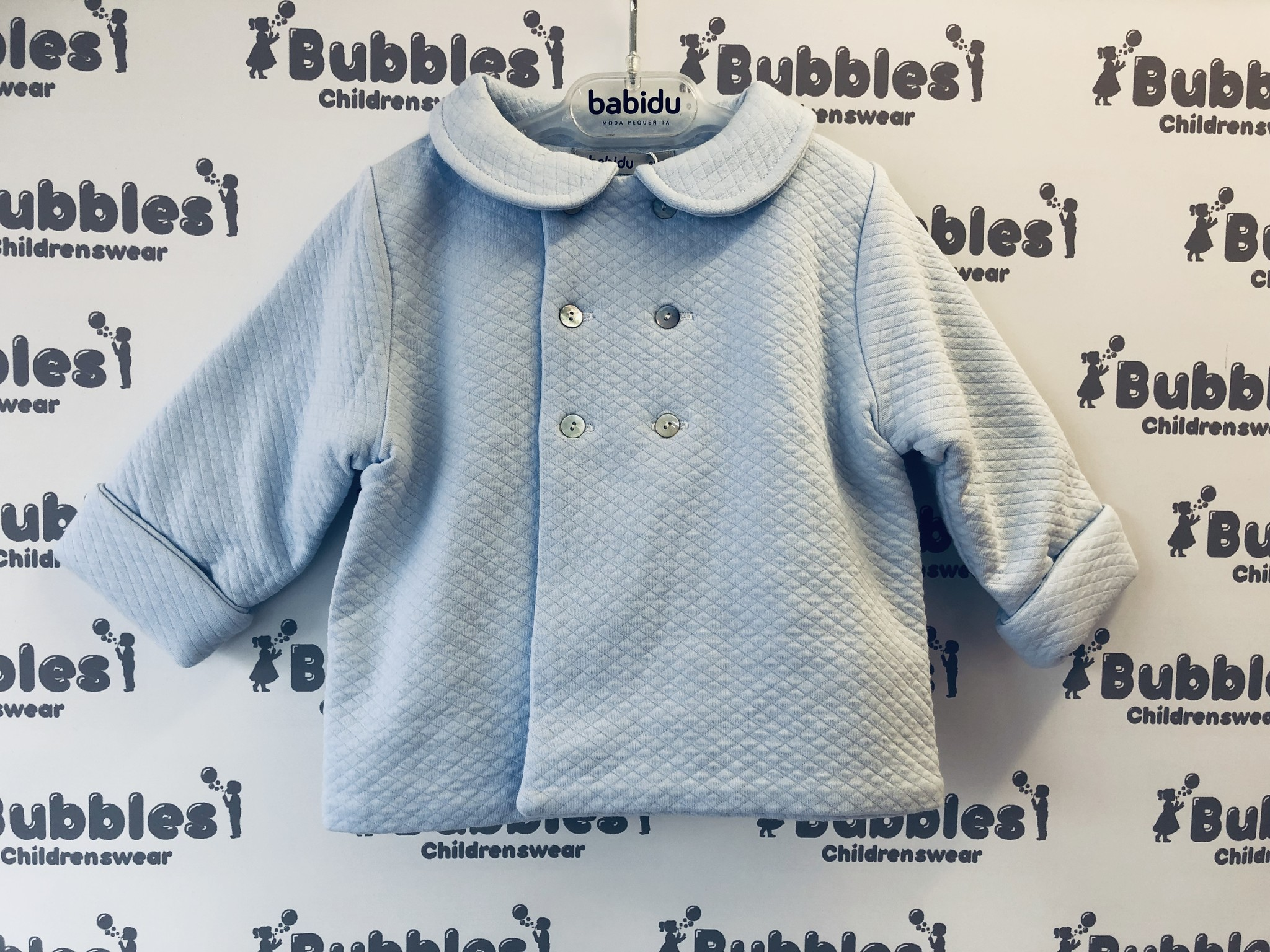 Babidu Babidu Blue London Top Coat 32190