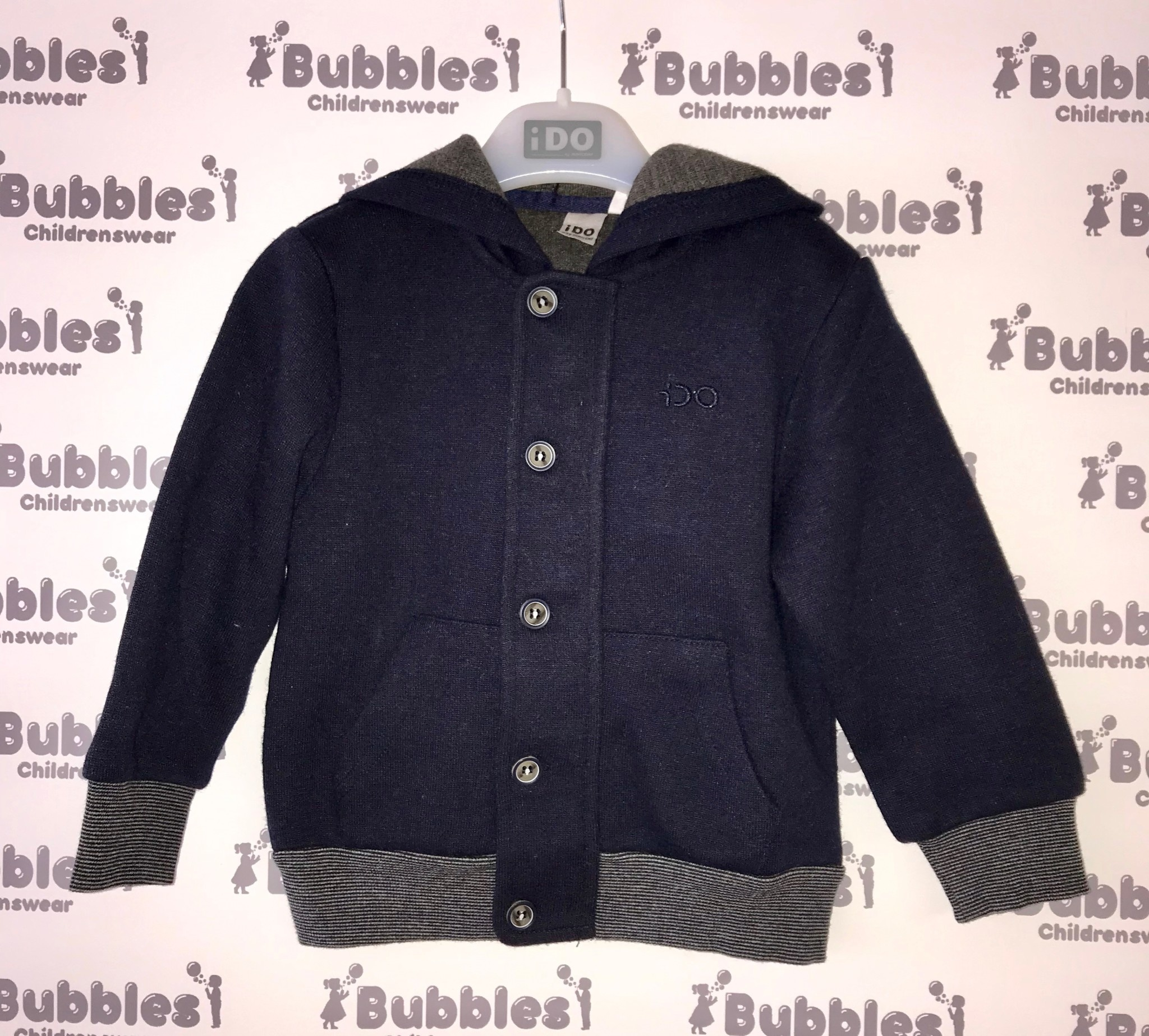 Ido iDO Navy Hooded Jacket