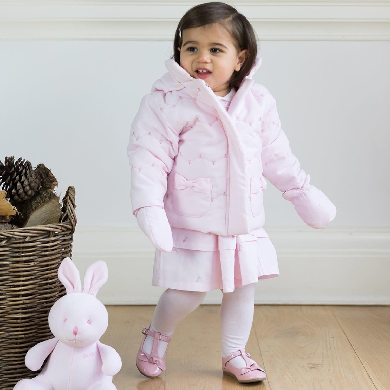 Emile et Rose Emile Et Rose 9302PP Pink Rosebud Jacket