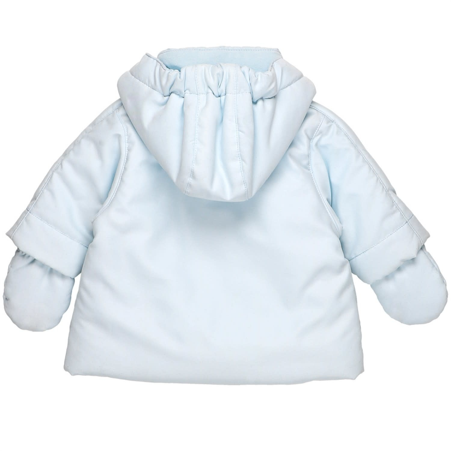 Emile et Rose Emile Et Rose 9301PB Pale blue Jacket With Mits