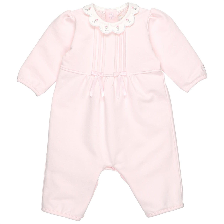Emile et Rose Emile Et Rose 1852PP Pink Romper suit
