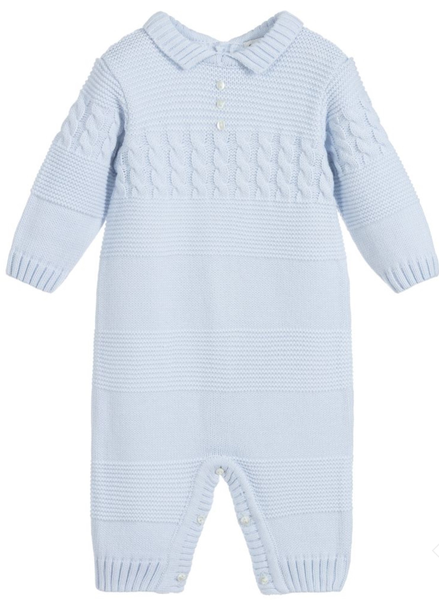 Sarah Louise Sarah Louise Blue Knitted All in One