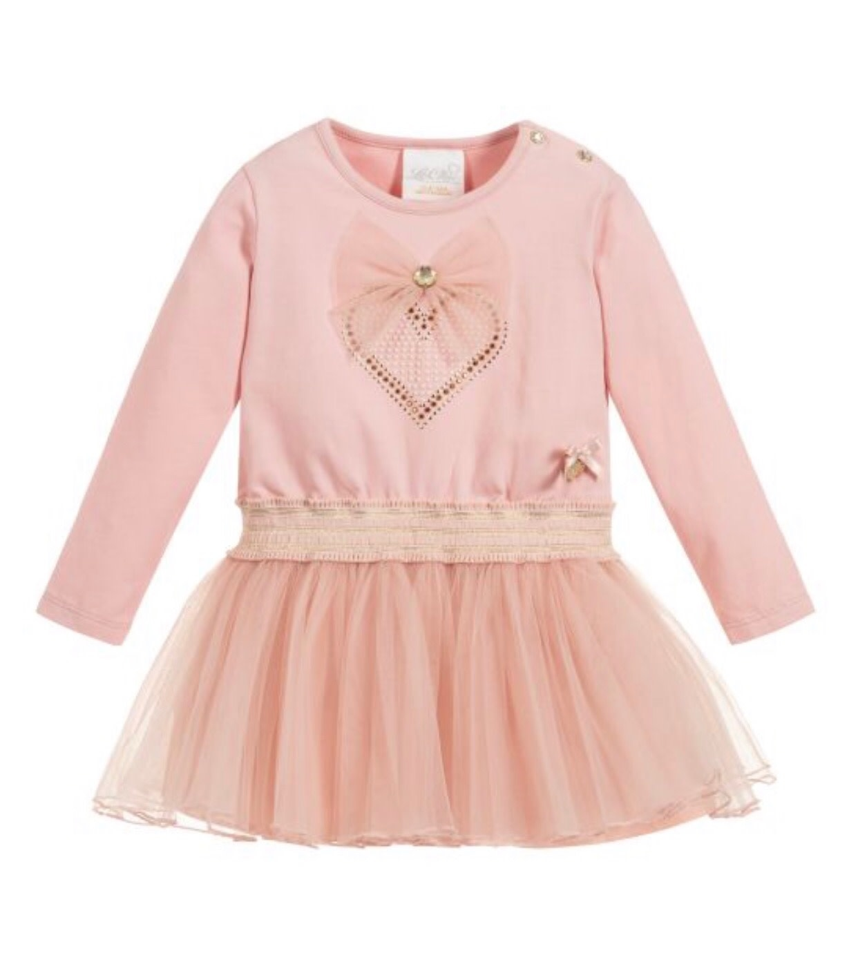 Lechic Le Chic Petticoat Dress With Heart