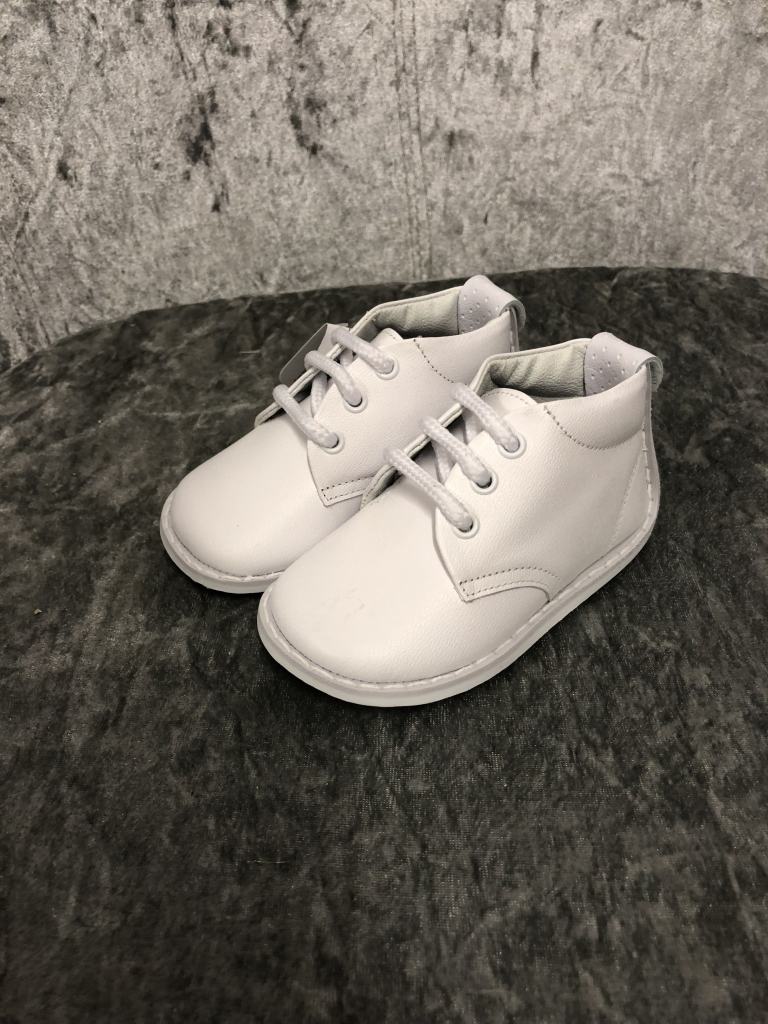 Pex Pex Josep White Lace Up Boys Shoes