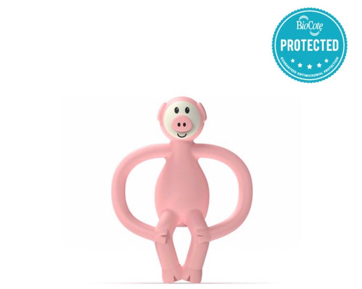 Matchstick Monkey Match Stick Monkey Teething Toy - Pig