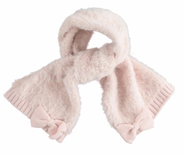 Ido iDO Pink Fluffy Hat & Scarf