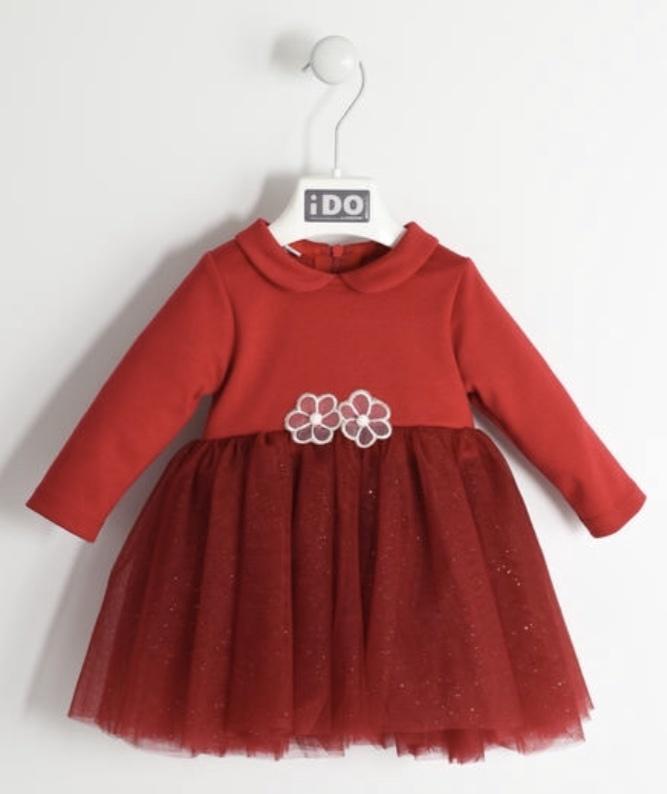 Ido iDO Red Tulle Dress