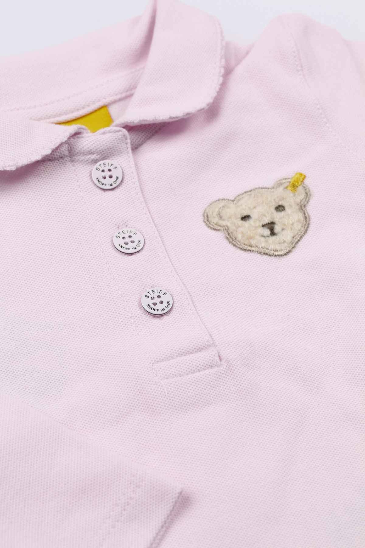 Steiff Steiff Girls Pink Polo Shirt