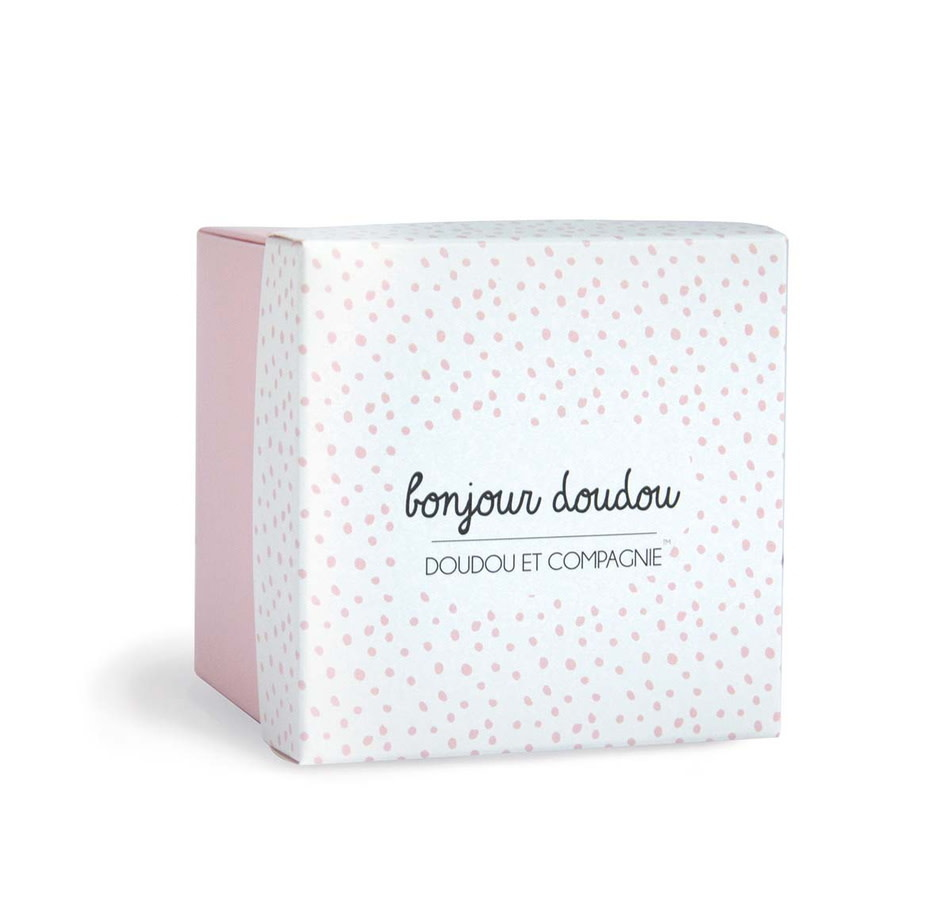 Doudou et Compagnie Pink Rabbit Comforter 10cm