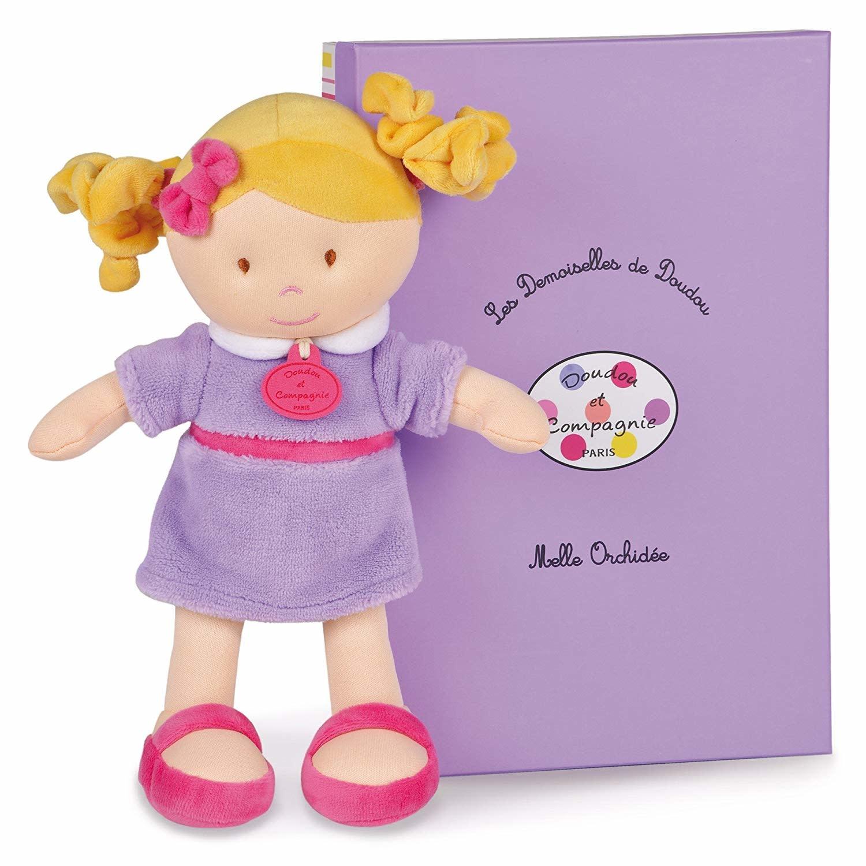 Doudou et Compagnie Les Demoiselles De Doudou Orchid Doll