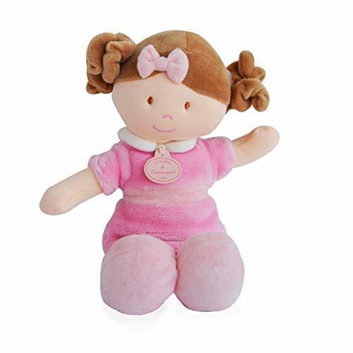 Doudou et Compagnie Les Demoiselles De Doudou Pink Doll