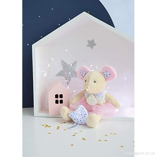 Doudou et Compagnie Tooth Fairy Mouse Pink