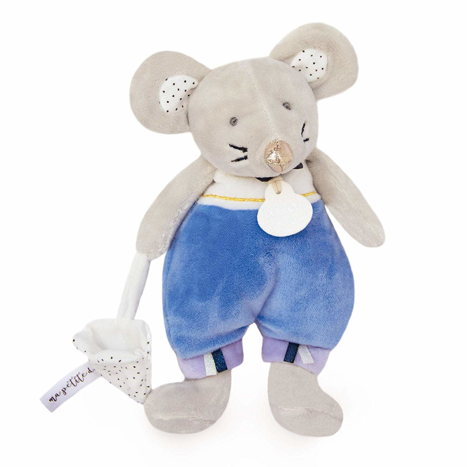 Doudou et Compagnie Tooth Fairy Mouse Blue