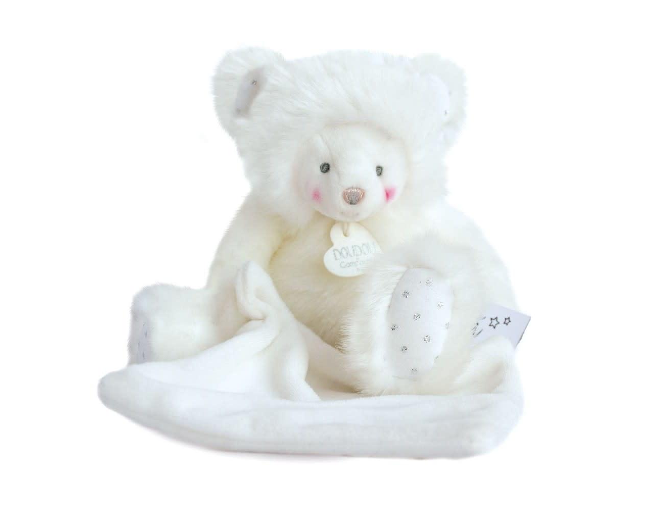 Doudou Et Compagnie Trop Mimi White Bear