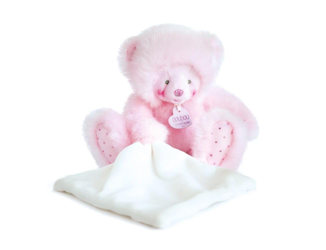 Doudou Et Compagnie Trop Mimi Pink Bear