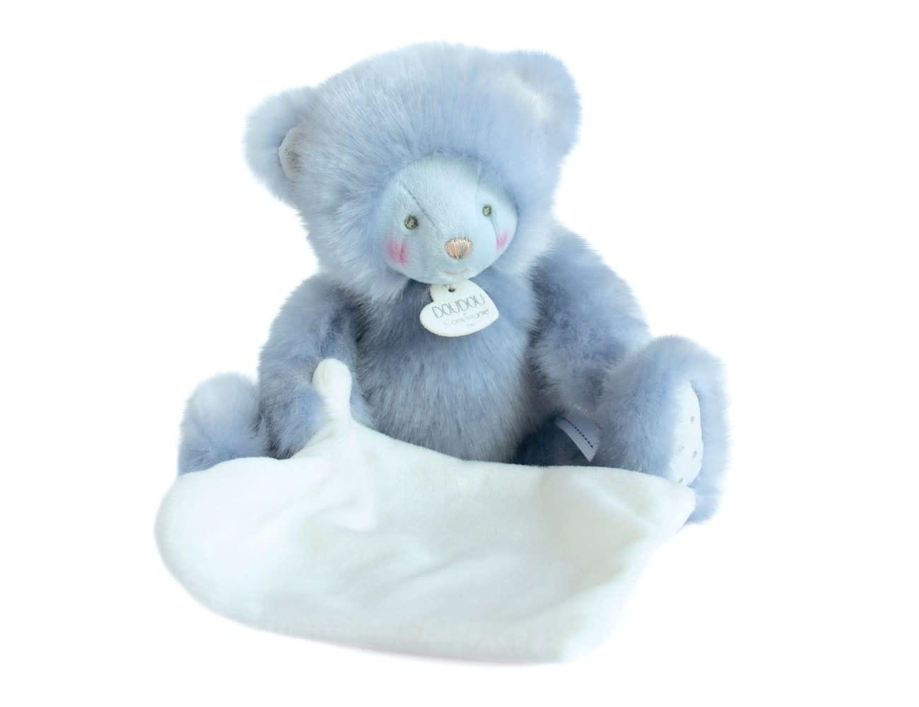 Doudou Et Compagnie Trop Mimi Blue Bear