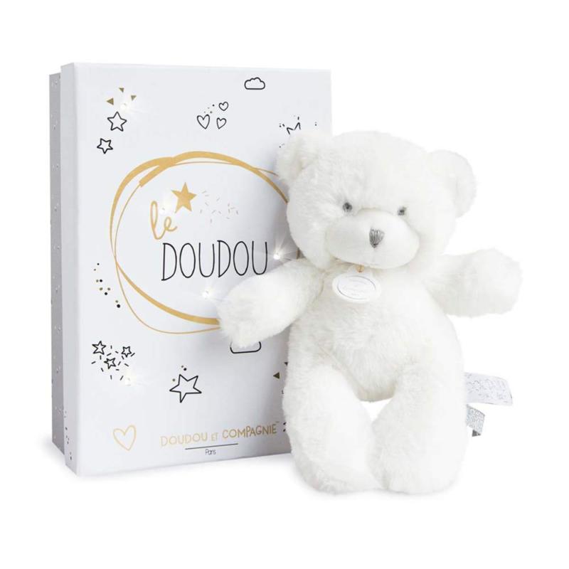 Doudou et Compagnie Doudou White Bear 20 cm