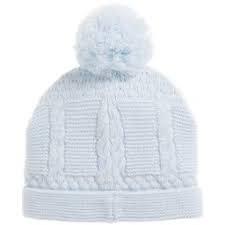 Sarah Louise Sarah Louise Boys Pale Blue Knit Hat