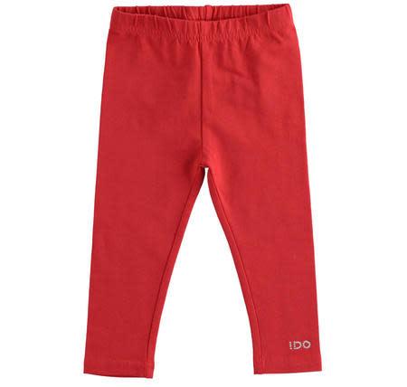 Ido Ido Cream & Red Heart Legging Set