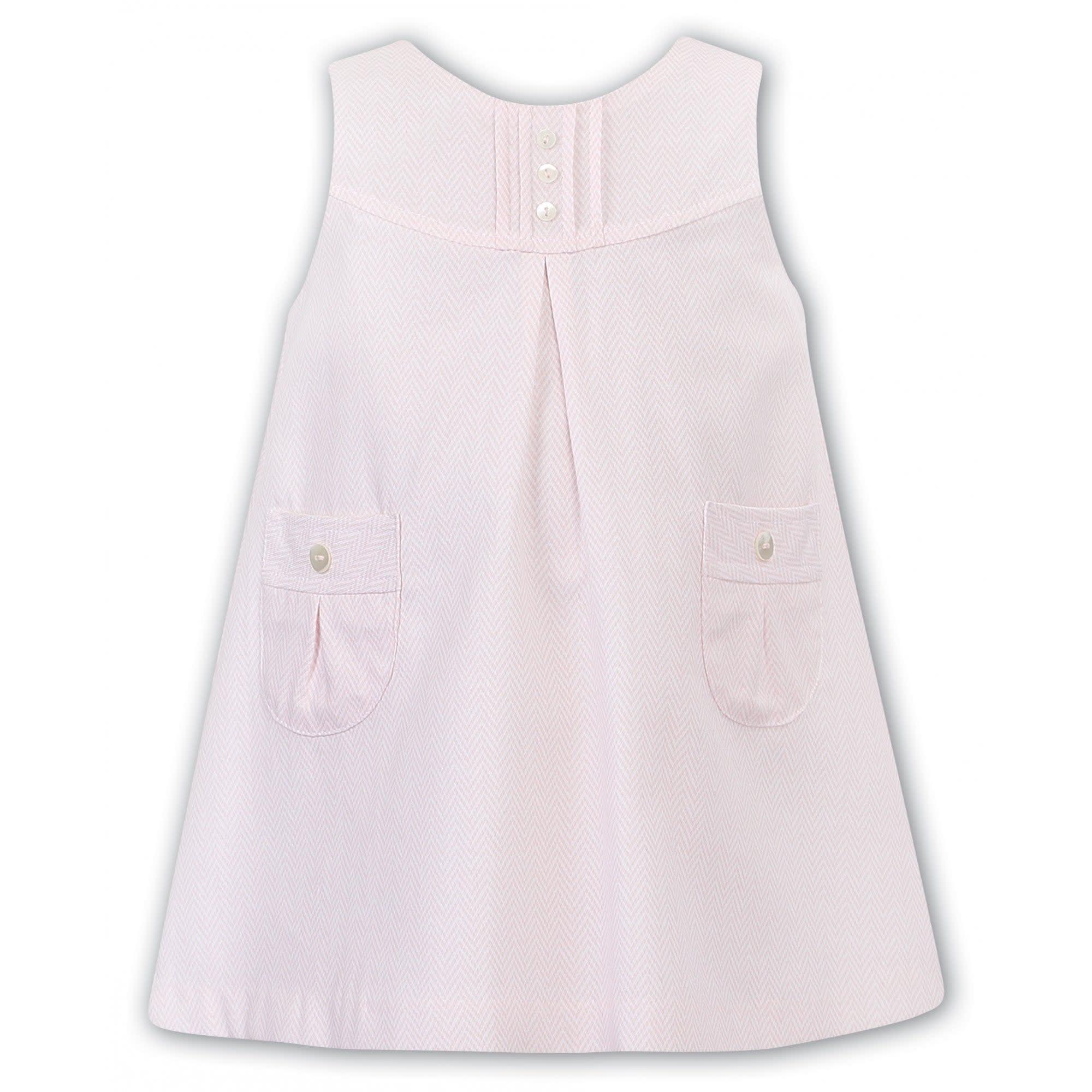 Sarah Louise Sarah Louise Dress and Blouse Set Pink