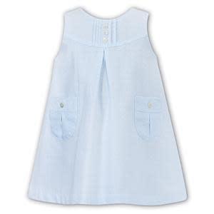Sarah Louise Sarah Louise Dress and Blouse Set Blue