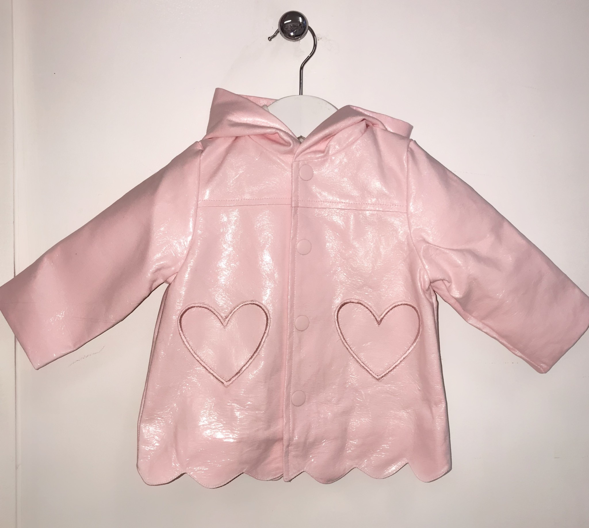 Little Lads & Ladies Girls Waterproof Jacket