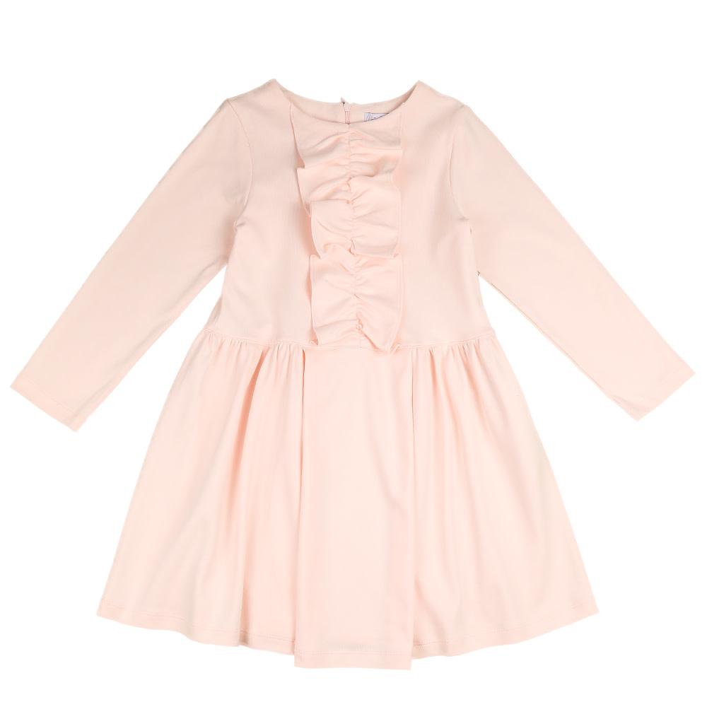 Patachou Patachou Girls Pale Pink Knit Dress AGE 8
