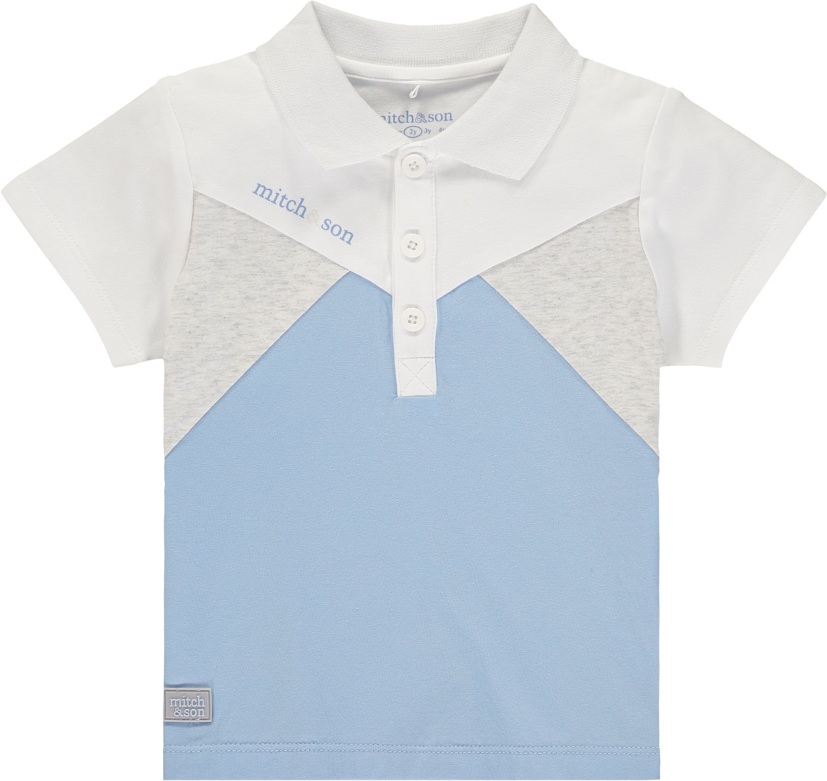 Mitch and Son Mitch & Son White Alexander Polo Shirt
