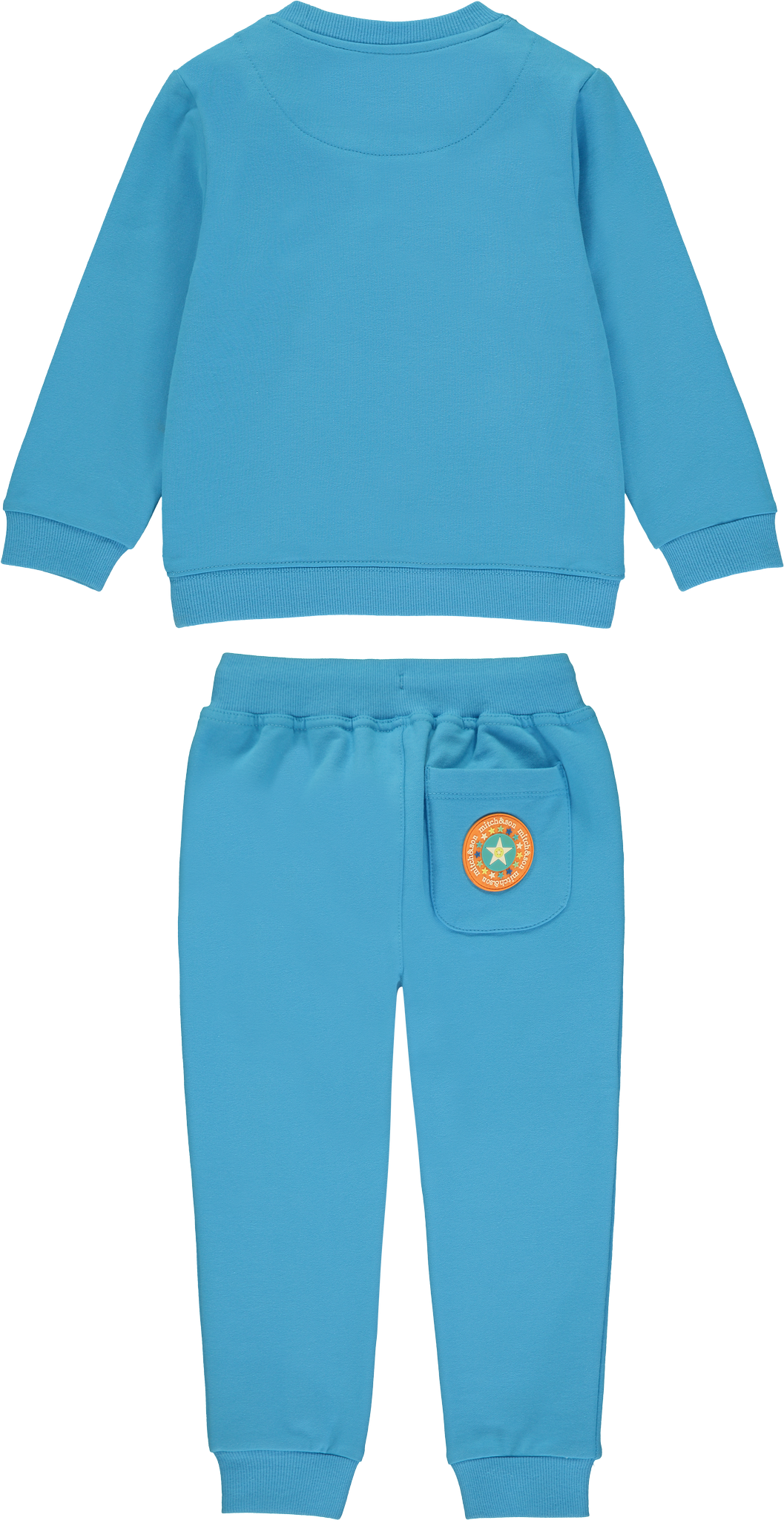 Mitch and Son Mitch & Son Christopher Blue Capri Star Tracksuit