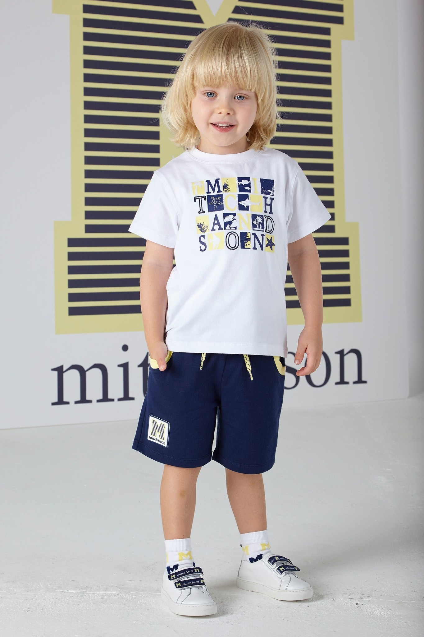 Mitch and Son Mitch & Son Carter White T-Shirt MS1323