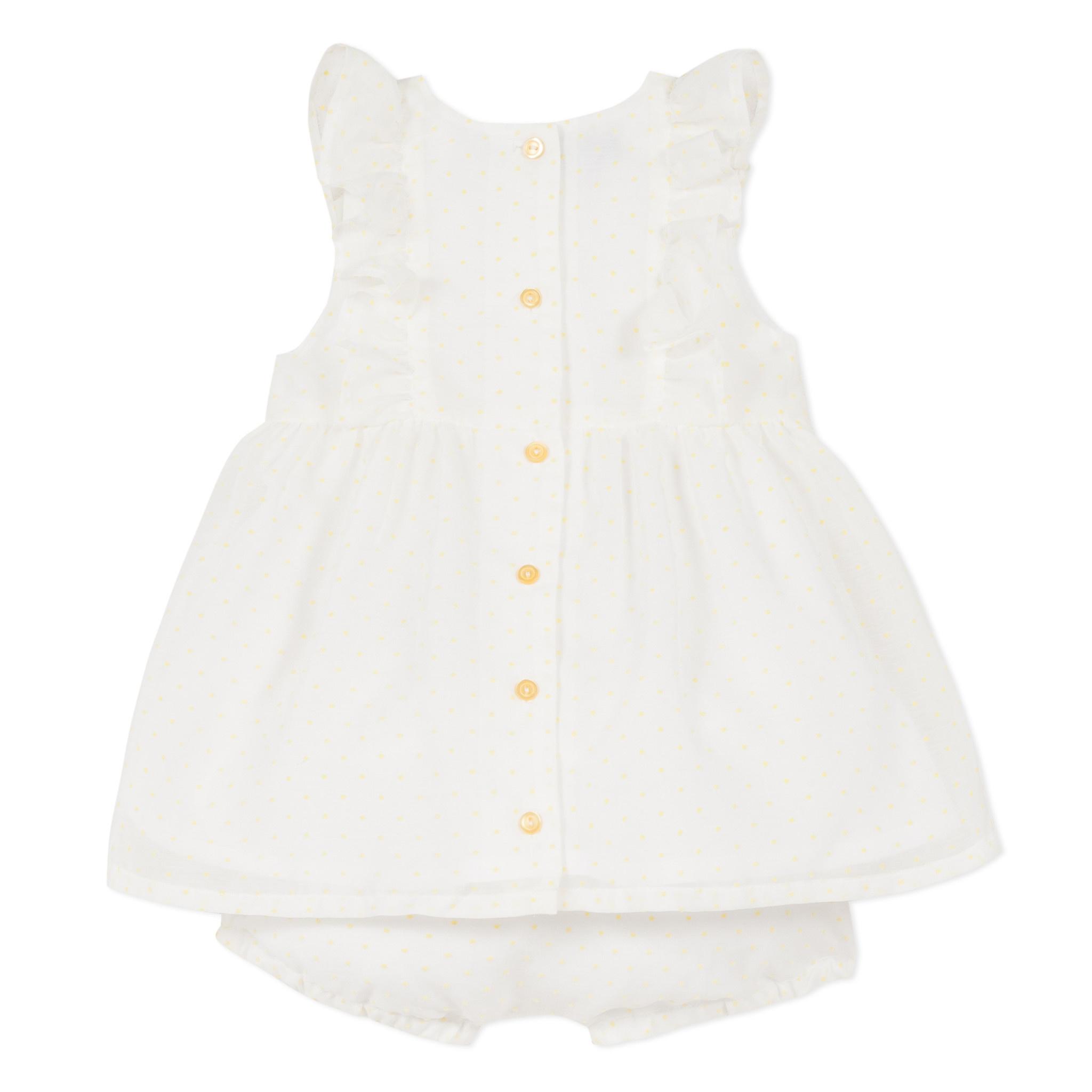Absorba Absorba Yellow Dot Two Piece Dress & Pants