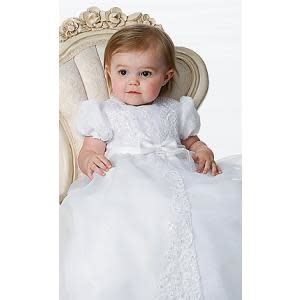 Sarah Louise Sarah Louise White Christening Gown And Cap 1165
