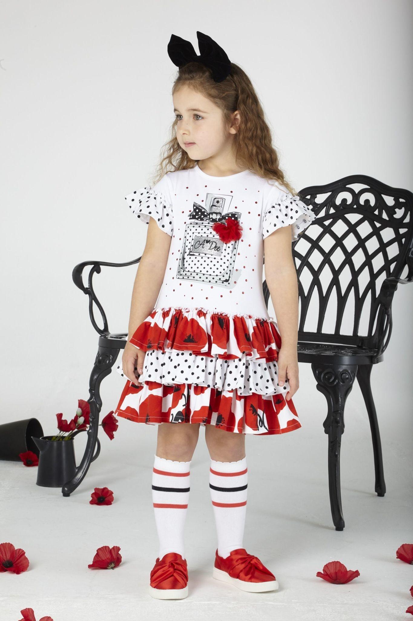 A Dee ADee Audrey Poppy Perfum Dress
