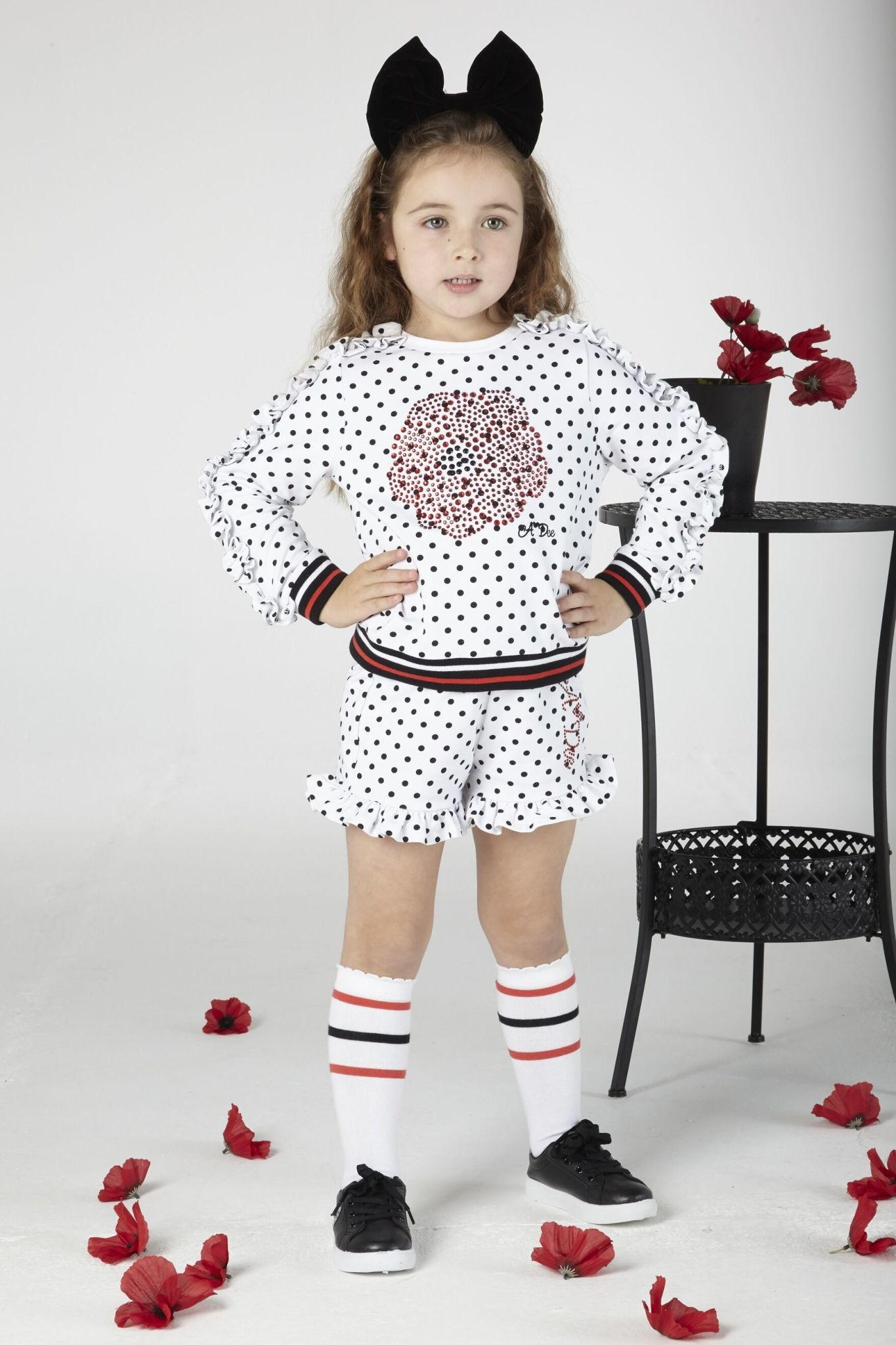 A Dee Adee Aiden Spot Jumper & Short Set