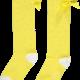 A Dee ADee Babe Lemon Sparkle Knee High Sock