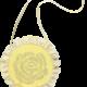 ADee Beverley Lemon Round Bag