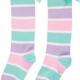 A Dee ADee Clio Stripe Knee High Sock