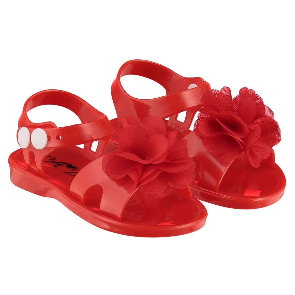 A Dee ADee Suzy Summer Jelly Shoe Red