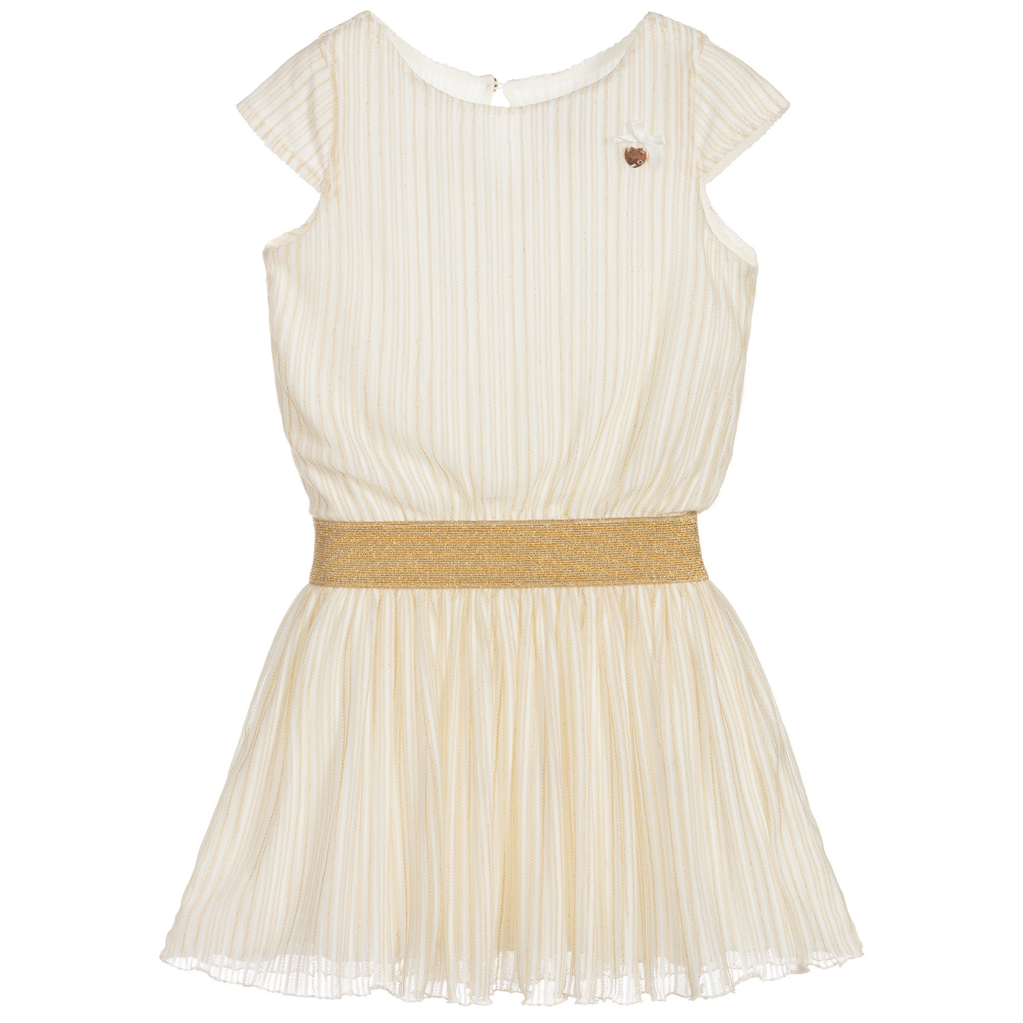 Lechic LeChic Golden Stripe Dress 5820