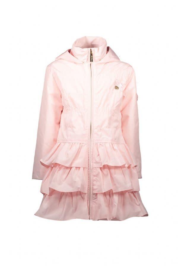 Lechic LeChic Infant Pink ruffle Coat 7200