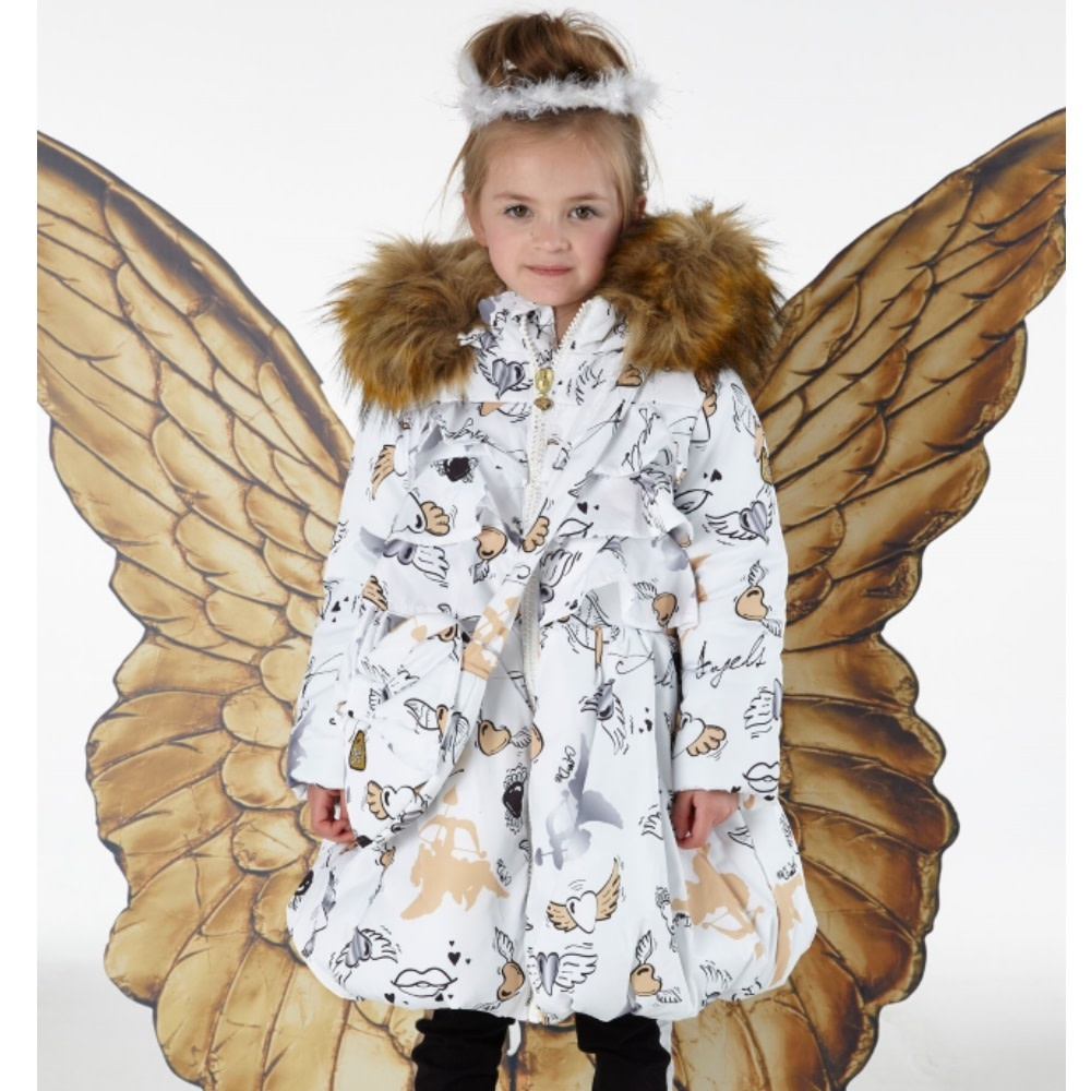 A Dee ADee W192204 Jackie Snow White Angels Jacket
